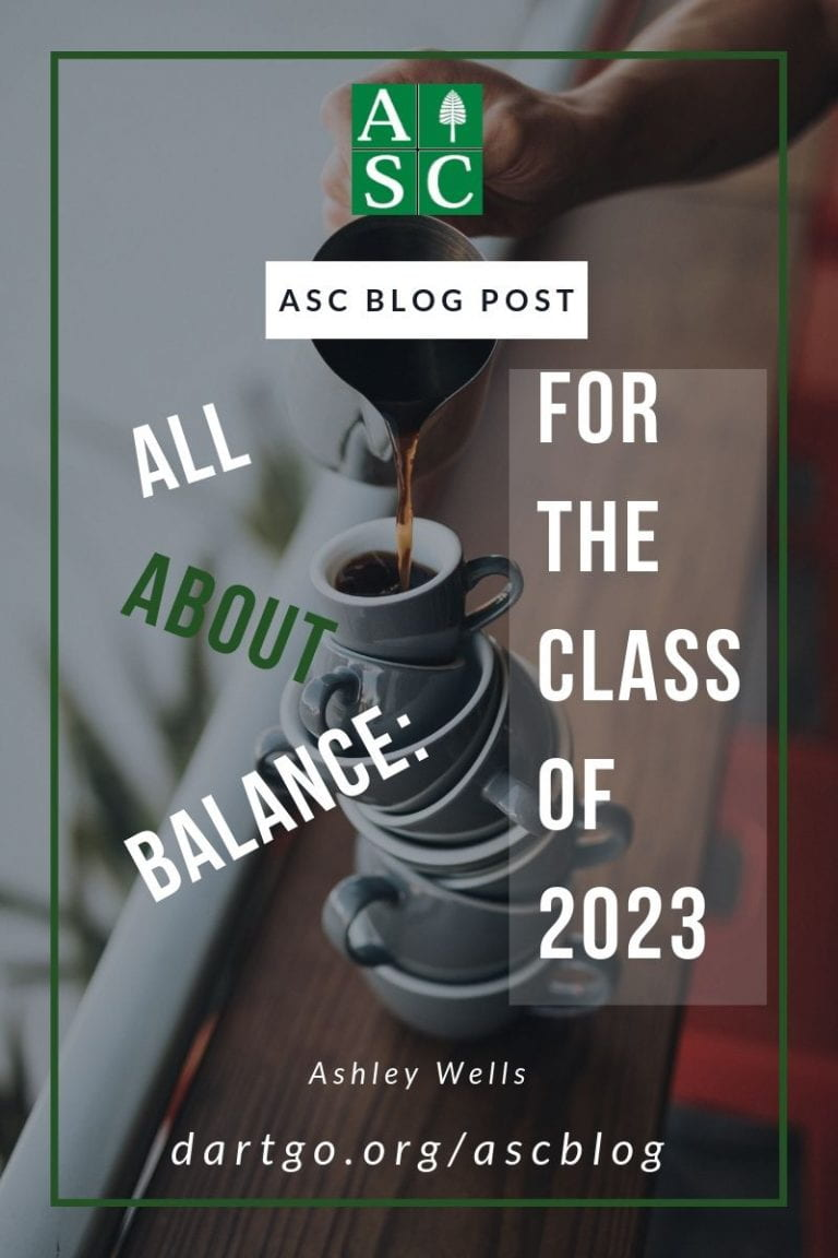 All About Balance: For 23's