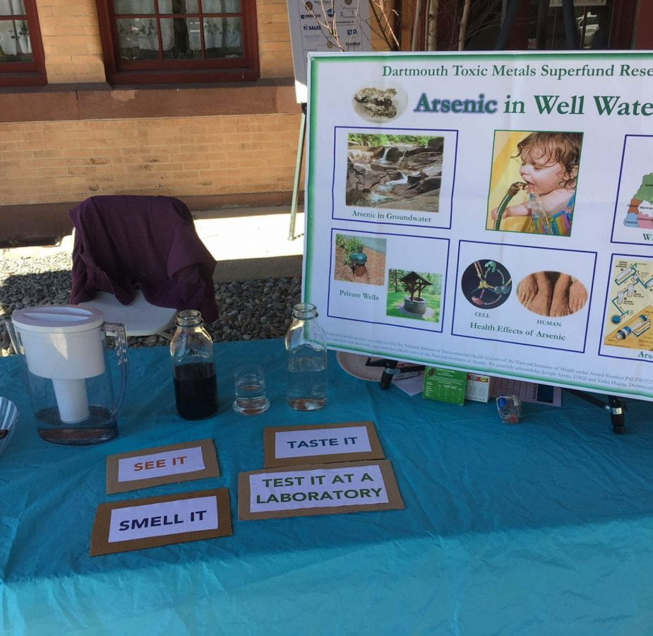 Arsenic display for 4th graders