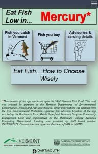screenshot of fish app