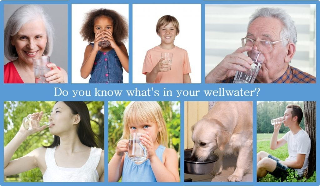 images of people drinking water