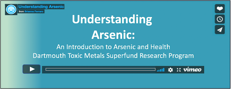 Cover Arsenic online module