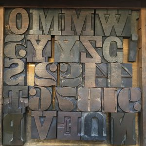 Lots of wood type to play with.