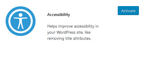 Accessibility plugin