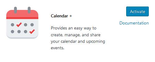 Calendar Plus plugin