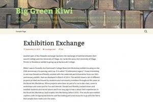 Big Green Kiwi screenshot