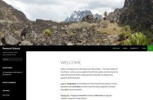 Rwenzori Science screenshot