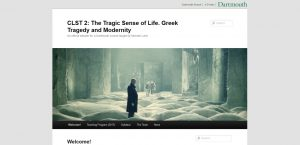 CLST 2: The Tragic Sense of Life. Greek Tragedy and Modernity screenshot