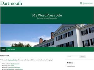 Dartmouth Green screenshot