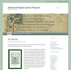 Digital Library Program