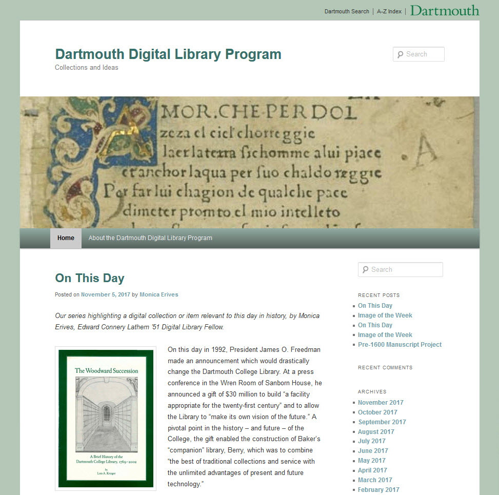 Digital Library Program screenshot