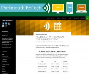 EdTech website