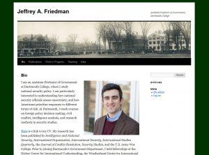 Jeffrey A. Friedman screenshot