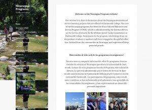 Nicaragua Programs screenshot