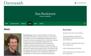 Dan Rockmore screenshot