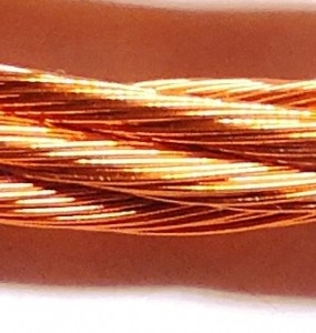 125-strand litz wire (5x25)
