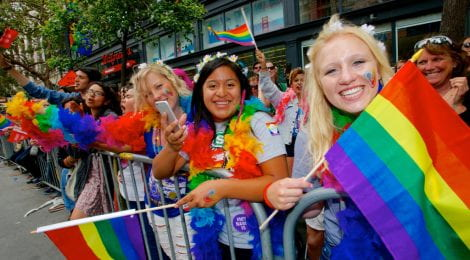 Straight Cisgender White Girl Claims Pride Parade Only Place She Can Truly Be Herself