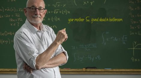 Report: Professor Uses Increasingly Threatening Examples In Class