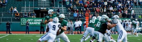 Recruits at Dartmouth-Yale Homecoming Game Impressed by Superior Dartmouth Coaching, Gameplay, Residential Housing System