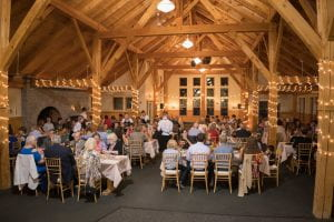 Party in main lodge room