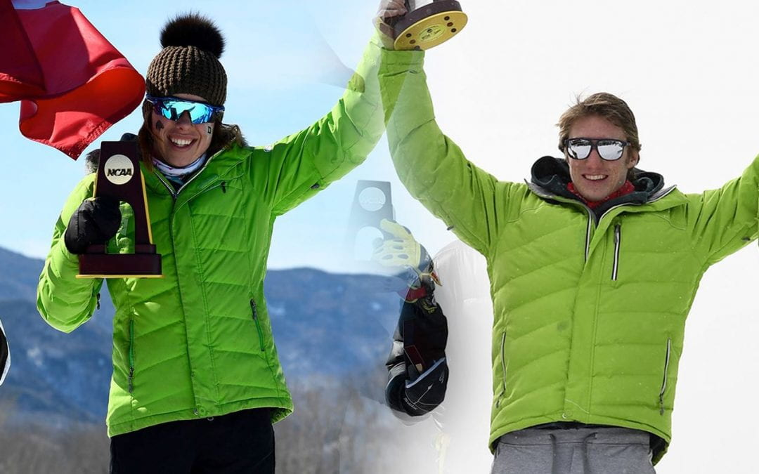Nef and Ogden Repeat as USCSCA Skiers of the Year