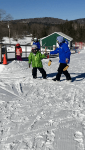 Snowboard teaching