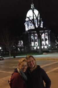 CCC & Cristina in Madison Dec 2015