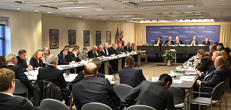 February 2013 IACP meeting at the Carnegie Endowment for International Peace discussing Euro-Atlantic cooperation to enhance arctic security