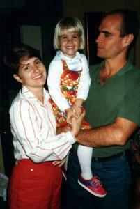 Adriana, left, Patty, center, and José, right.