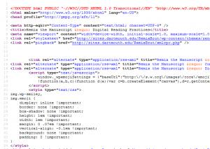 Source code, MAA 2016