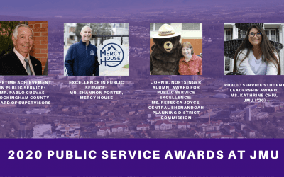 JMU Recognizes Excellence in Shenandoah Valley Public Service
