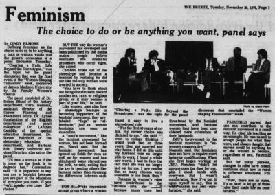 The Breeze, November 30, 1979