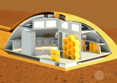 Northwestern - Martian Habitat One Quarter View-2o68icw