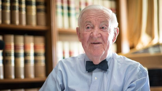 Justice John Paul Stevens (JD '47)