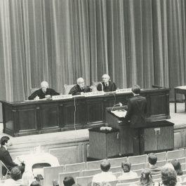 Stevens moot court judge 1980