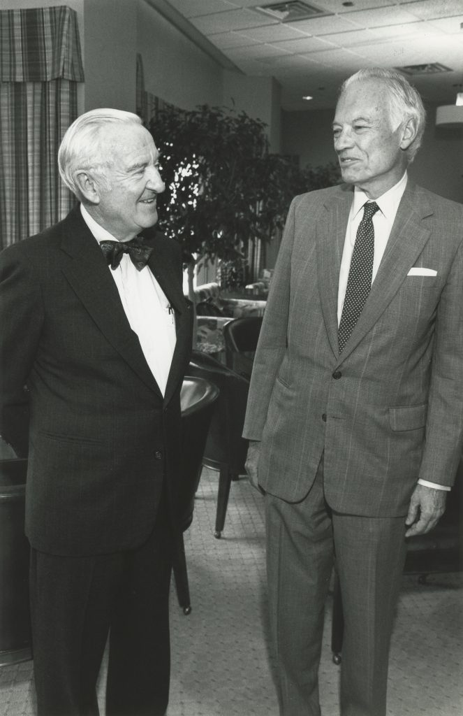Stevens and Trienens in 1992