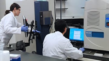 High Throughput Analysis Lab