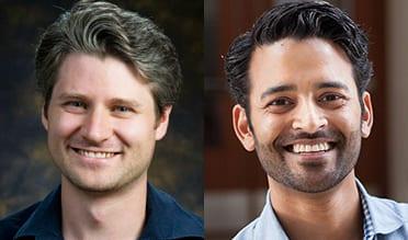 Christian Petersen and Madhav Mani of Northwestern University.