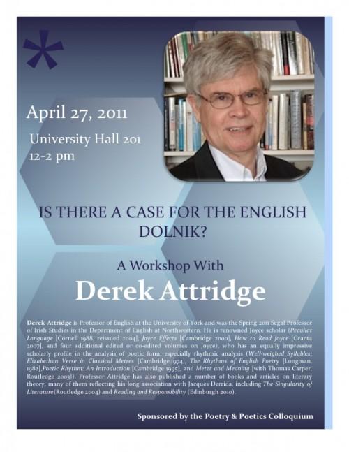 Derek Attridge