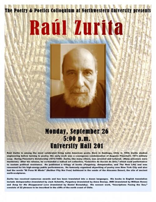 Zurita poster