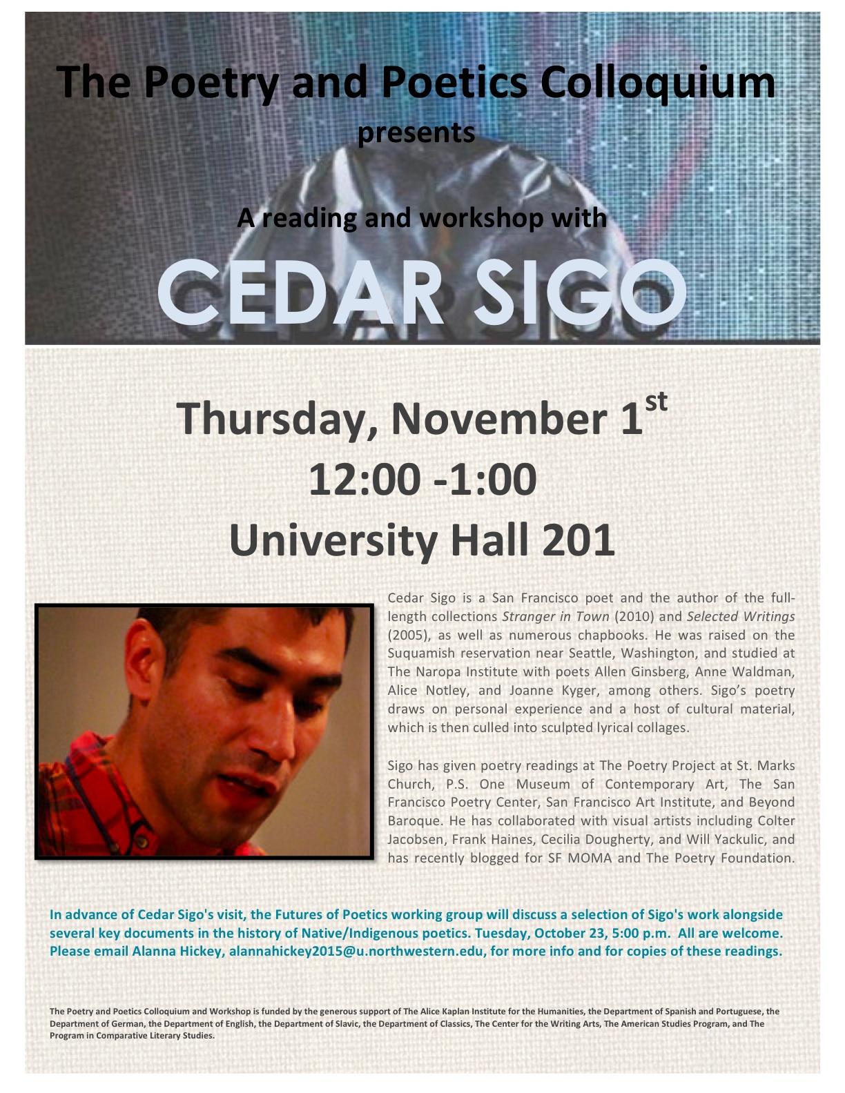 Cedar Sigo