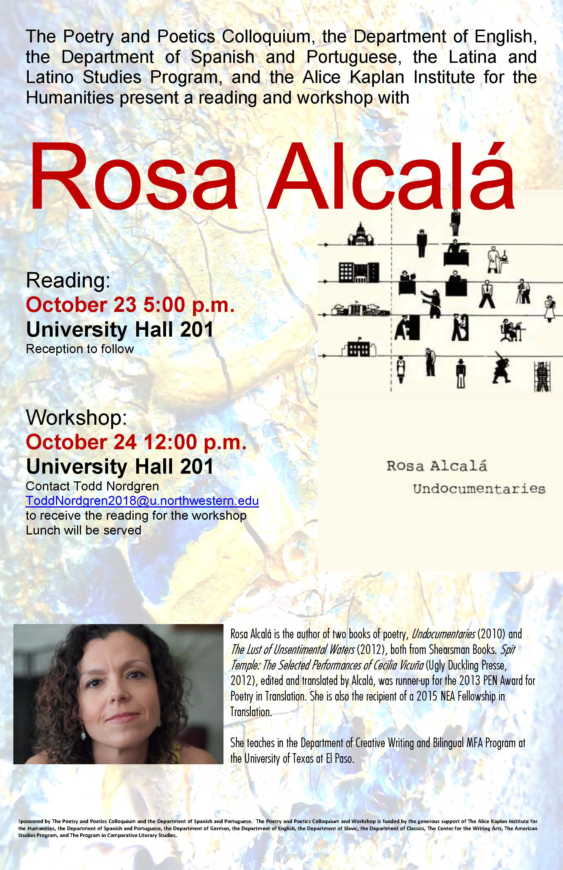 Rosa Alcalá Poster