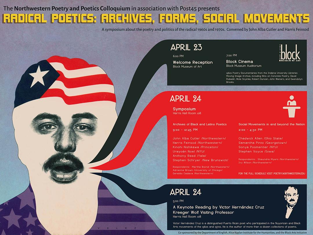Radical Poetics Poster