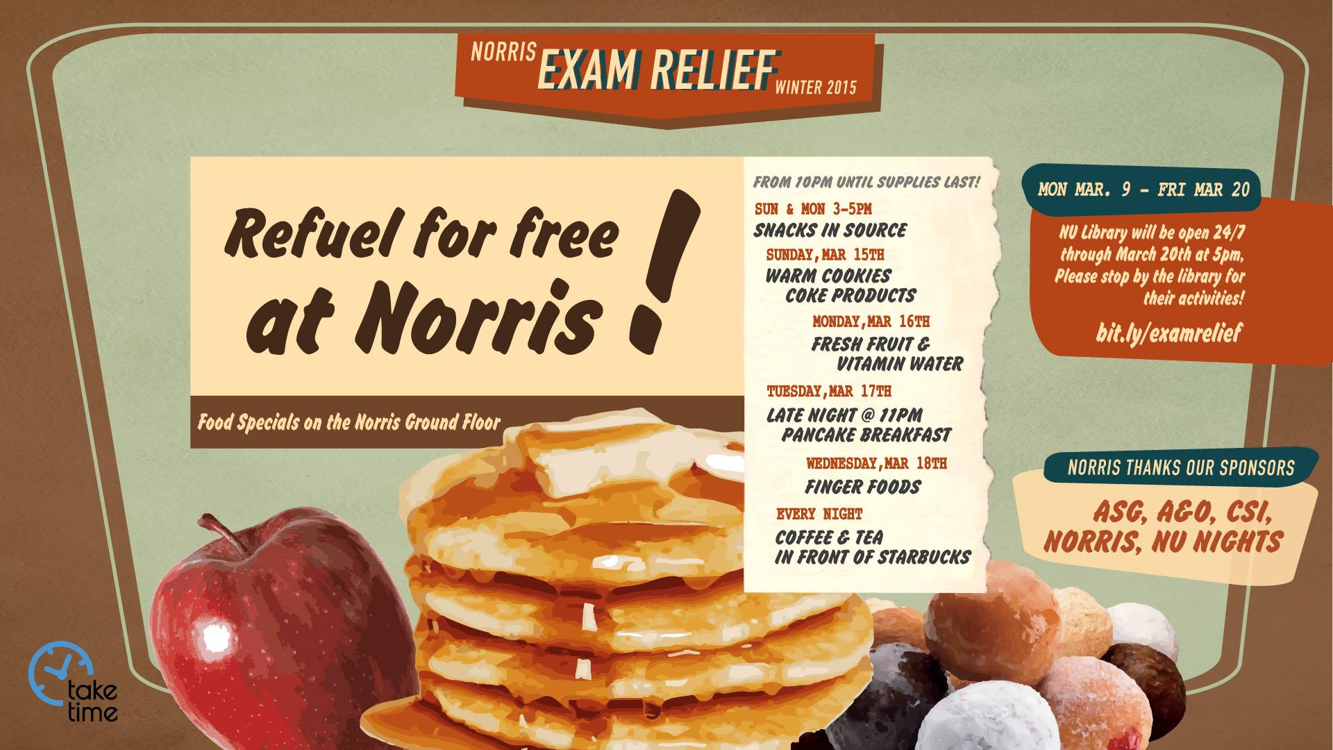 Taylor: Exam Relief Late Night Breakfast