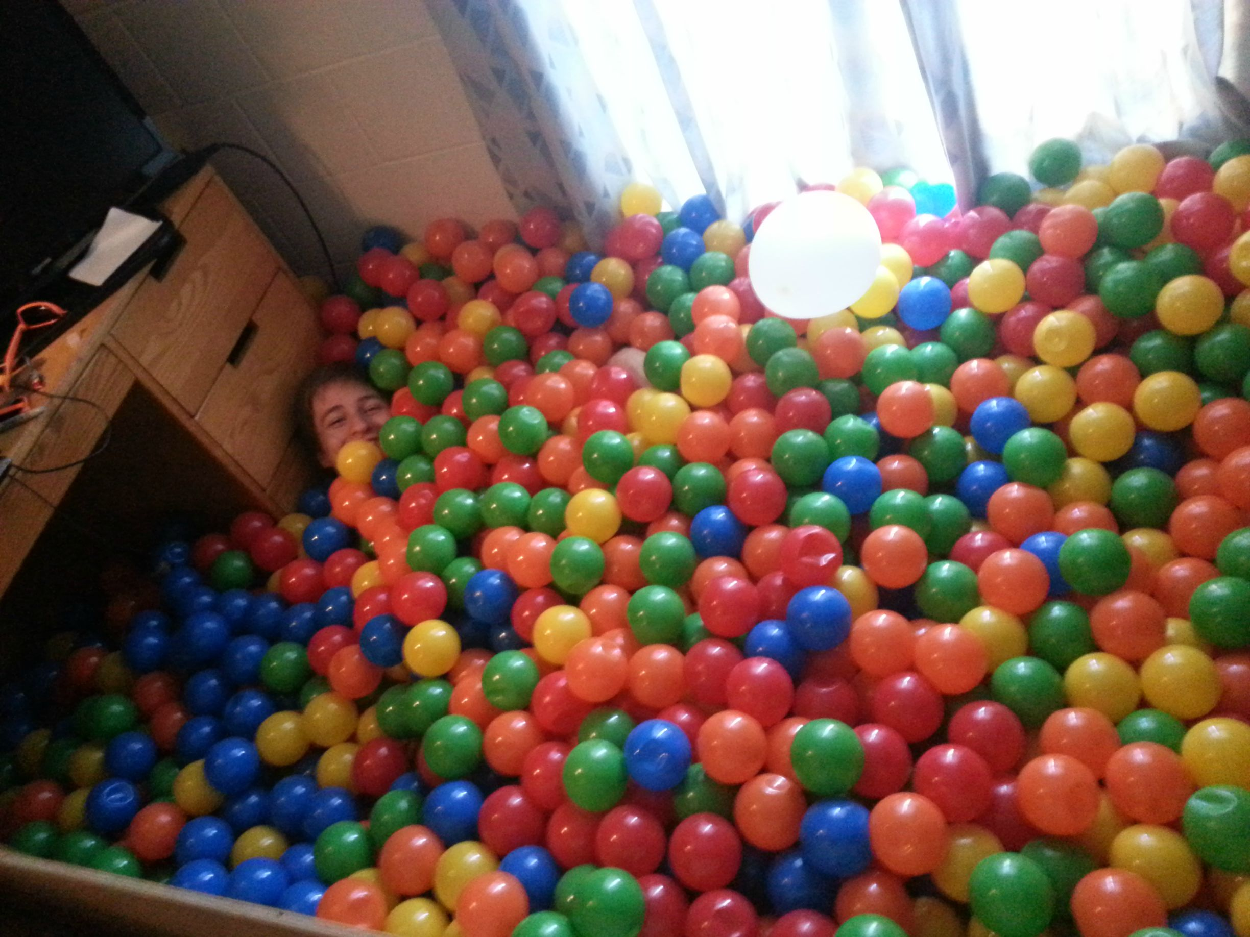Ava: Dorm Room Ball Pit