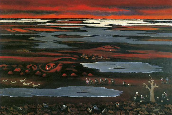 Manchukuo at Sunset   赤い夕日の満州 (1994)