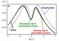 Sci. Rep. article on Perturbative approach to Markovian open quantum systems