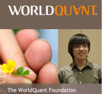 Andy Li wins World Quantitative and Science Scholarship