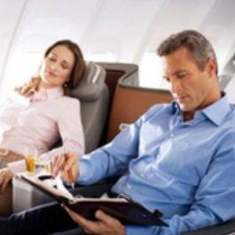 Airlines offer pyjamas, mood lighting to make long-hauls more tolerable
