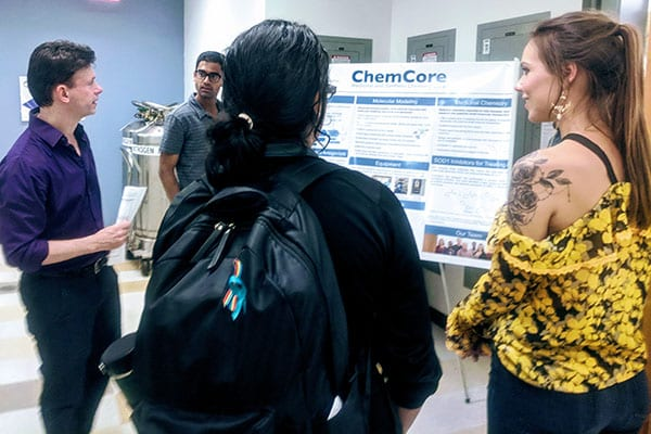 ChemCore, a CLP facility, offers computational, medicinal and synthetic chemistry services to support drug discovery research at Northwestern and externally.