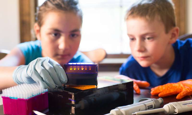 BioBits educational kits bring synthetic and molecular biology experiments into K-12 classrooms